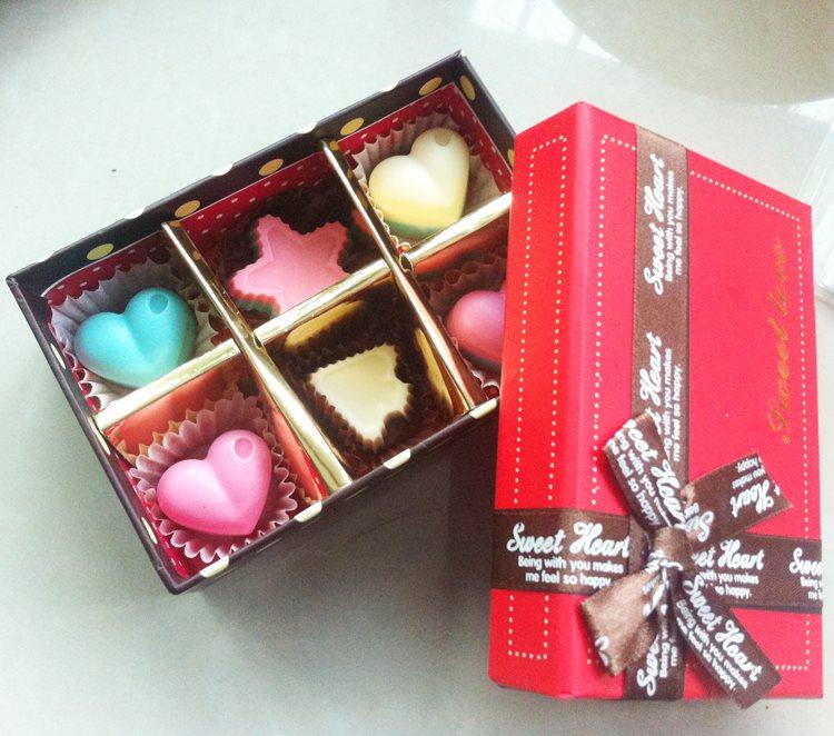 kẹo socola trái tim Kẹo socola trái tim cực xinh cho Valentine trắng ngọt ngào 11000141 367904526747624 6228587366162593870 n