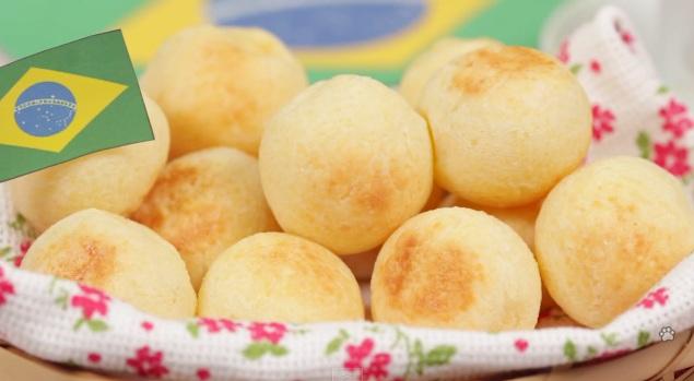 Bánh mì phomat - Pão de Queijo