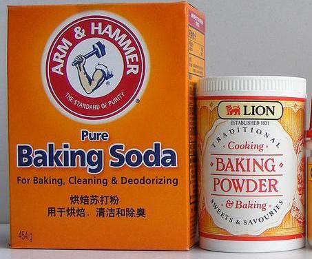 Khi nào sử dụng baking soda, baking powder khi nào sử dụng baking soda, baking powder Khi nào sử dụng baking soda, baking powder cac chat gay no trong banh1