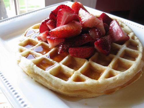 Cách làm bánh waffles 4 bánh waffles Cách làm bánh waffles cach lam banh waffles 4
