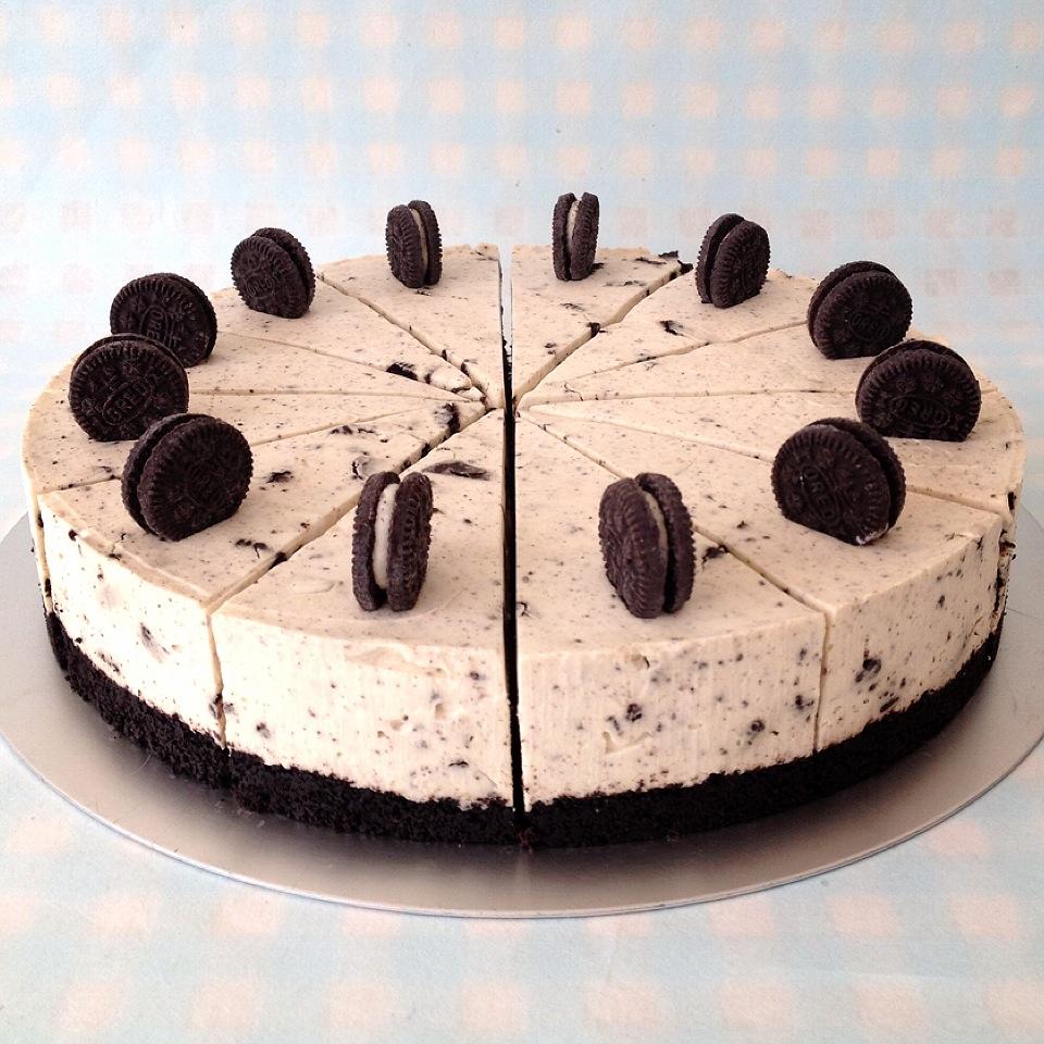 cách làm bánh oreo cheesecake 7 bánh cheesecake oreo Phiên bản bánh cheesecake oreo không cần lò nướng cach lam cheesecake 7
