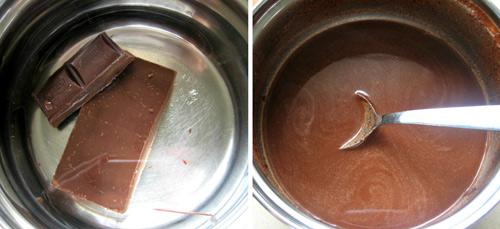 cách nấu chocolate - 4 cách nấu chocolate Cách nấu chocolate chảy mịn đẹp đơn giản nhất cach nau chocolate tan chay het va khong bi von cuc 3