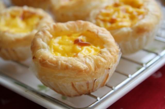 cách l àm bánh tart trứng đơn giản 2 tart trứng Bánh tart trứng ngon không kém KFC tart trung 2
