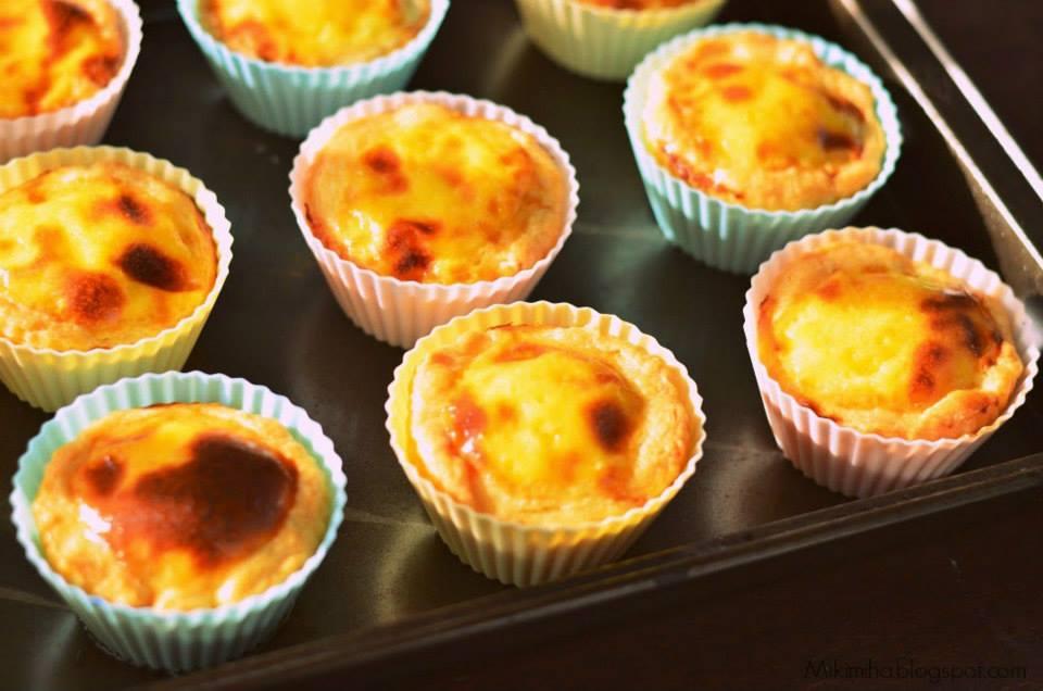 cách l àm bánh tart trứng đơn giản 7 tart trứng Bánh tart trứng ngon không kém KFC tart trung 7