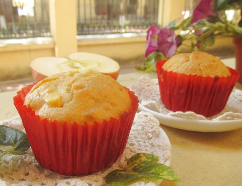 cách làm bánh muffin táo 7 muffin táo Làm bánh muffin táo thơm lừng cho ngày mới cach lam banh muffin tao 7