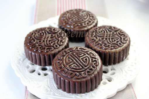 Cách làm bánh nướng socola 1 bánh nướng socola Bánh nướng socola nhân cafe và creamcheese cach lam banh nuong socola 1