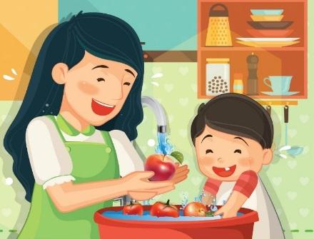 day-be-lam-banh-cung-me-tai-sao-khong-2 bé làm bánh Dạy bé làm bánh cùng mẹ, tại sao không? day be lam banh cung me tai sao khong 2