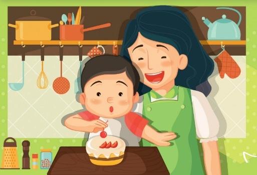 day-be-lam-banh-cung-me-tai-sao-khong-3 bé làm bánh Dạy bé làm bánh cùng mẹ, tại sao không? day be lam banh cung me tai sao khong 3