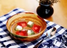 Thạch dừa trái cây ngọt mát cho ngày nắng