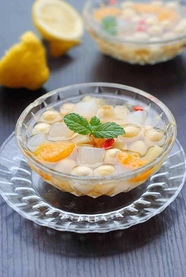 cách làm thạch dừa trái cây 5 thạch dừa trái cây Thạch dừa trái cây ngọt mát cho ngày nắng thach dua trai cay ngot mat 5