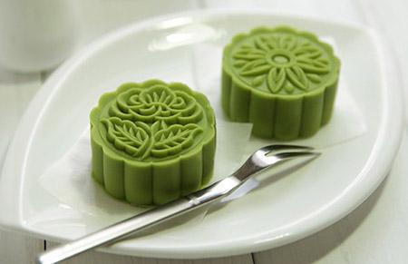 cách làm bánh dẻo tuyết nhân trà xanh 4