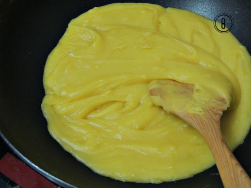 Cách sên nhân đậu xanh cho bánh trung thu 6