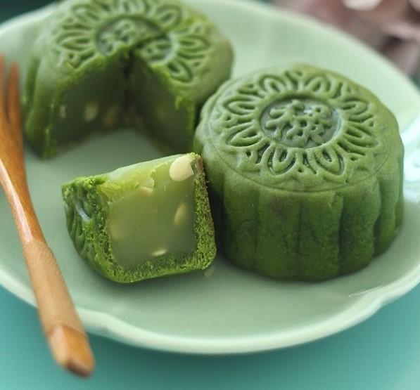 cách sên nhân trà xanh 5 cách sên nhân trà xanh Cách sên nhân trà xanh và nhân lá dứa cho bánh Trung thu cach sen nhan tra xanh 5