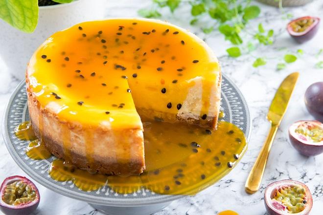 Bánh mousse chanh dây bánh mousse chanh dây Cách làm bánh mousse chanh dây độc đáo bất ngờ chiêu đãi cả gia đình b  nh mousse chanh d  y