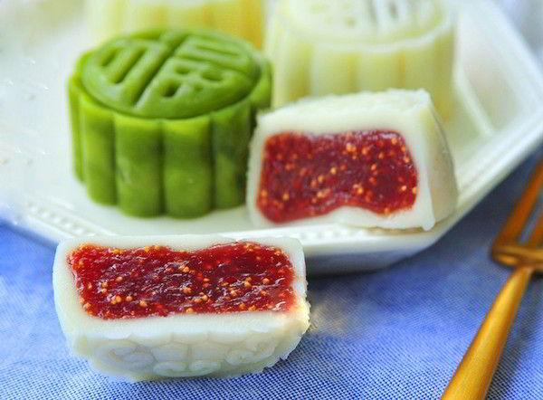 cach-lam-banh-deo-tuyet-it-beo-voi-nhan-sung-chin-9 cách làm bánh dẻo tuyết Cách làm bánh dẻo tuyết ít béo với nhân sung chín cach lam banh deo tuyet it beo voi nhan sung chin 9