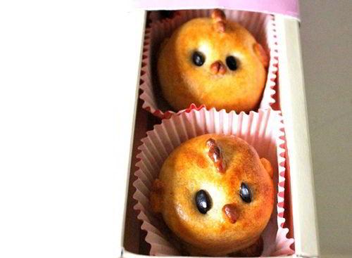 Cách làm bánh nướng hình con gà xinh yêu, nhìn là thích