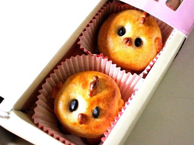 cach-lam-banh-nuong-hinh-con-ga-9 cách làm bánh nướng Cách làm bánh nướng hình con gà xinh yêu, nhìn là thích cach lam banh nuong hinh con ga 9