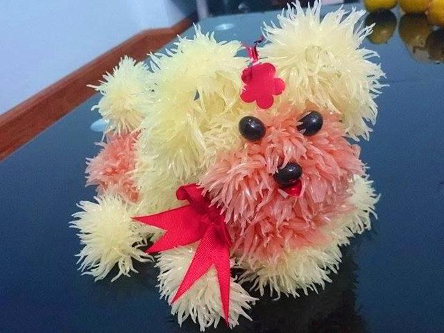 cach-lam-cho-buoi-don-tet-trung-thu-14 cách làm chó bưởi Đừng bỏ lỡ cách làm chó bưởi đẹp lung linh đón Trung thu cach lam cho buoi don tet trung thu 14