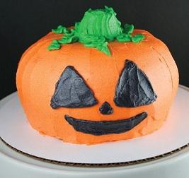 cách làm bánh halloween 110 cách làm bánh halloween Cách làm bánh Halloween hình quả bí ngô siêu thú vị cach lam banh halloween hinh qua bi ngo 01
