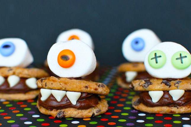 cách trang trí bánh kẹo Halloween 6 cách trang trí bánh kẹo halloween 15 cách trang trí bánh kẹo Halloween siêu cute siêu dễ cach trang tri banh keo halloween 6