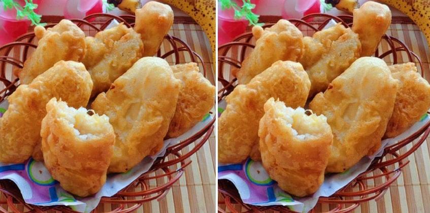 cách làm bánh chuối chiên bánh chuối chiên giòn Bánh chuối chiên giòn tan, thơm ngon khó cưỡng lại Cach lam banh chuoi chien 10