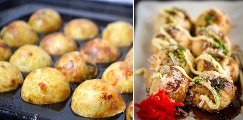 Cách làm bánh bạch tuộc takoyaki theo 3 loại khuôn