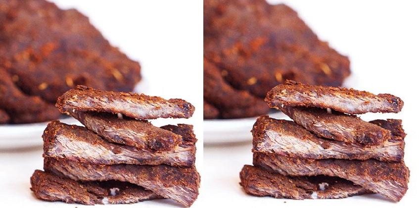 cách làm thịt bò khô bằng nồi cơm điện cách làm thịt bò khô Cách làm thịt bò khô miếng bằng nồi cơm điện cực tiện cach lam thit bo kho bang noi com dien 5
