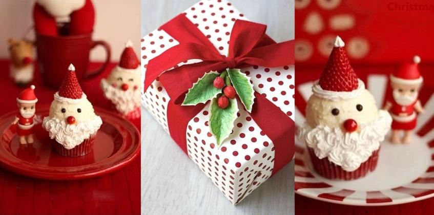cách làm bánh cupcake hình ông già noel đón giáng sinh 160 cách làm bánh cupcake Cupcake ông già Noel xinh yêu đón Giáng sinh đang về cach lam banh cupcake hinh ong gia noel don giang sinh