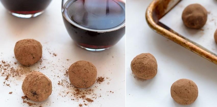 cách làm chocolate truffle rượu vang đỏ cho valentine 60 cách làm chocolate truffle Làm chocolate truffle rượu vang đỏ siêu ngon cho Valentine cach lam chocolate truffle ruou vang do cho valentine 11