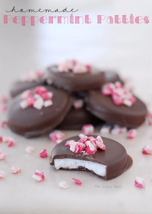 cách làm kẹo socola nhân bạc hà cực ngon cho valentine 1
