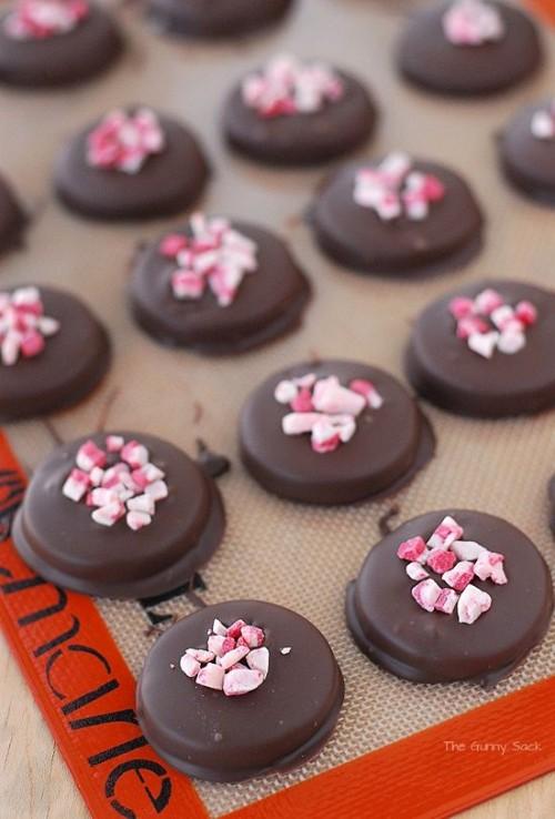 cách làm kẹo socola nhân bạc hà cực ngon cho valentine 5