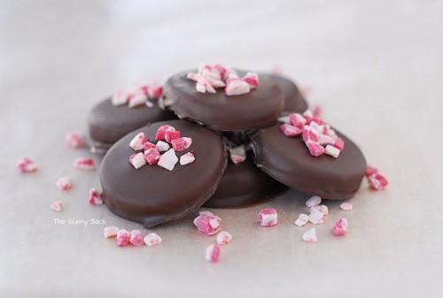 cách làm kẹo socola nhân bạc hà cực ngon cho valentine 6