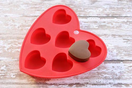 cách làm socola trái tim đơn giản nhất cho valentine 2