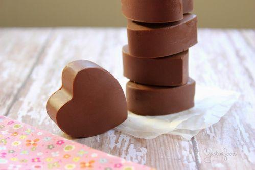 cách làm socola trái tim đơn giản nhất cho valentine 3