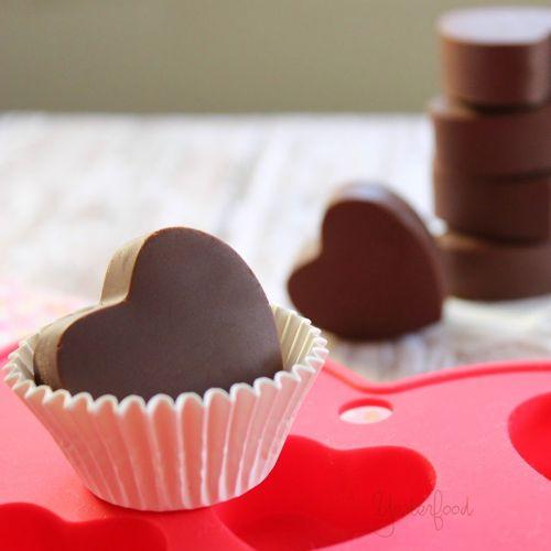 cách làm socola trái tim đơn giản nhất cho valentine 4