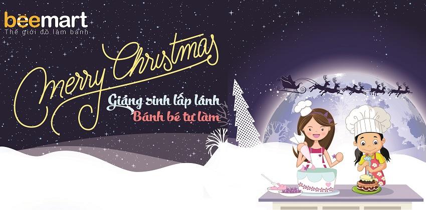 Tổng kết chương trình Giáng sinh lấp lánh – Bánh bé tự làm