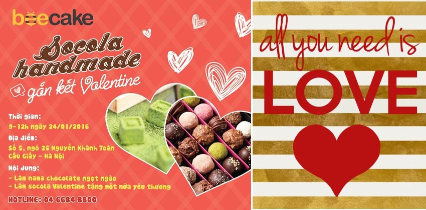 """Lớp học socola handmade gắn kết Valentine 1  Lớp học """"Socola handmade gắn kết Valentine"""" BannerASSSSD"""