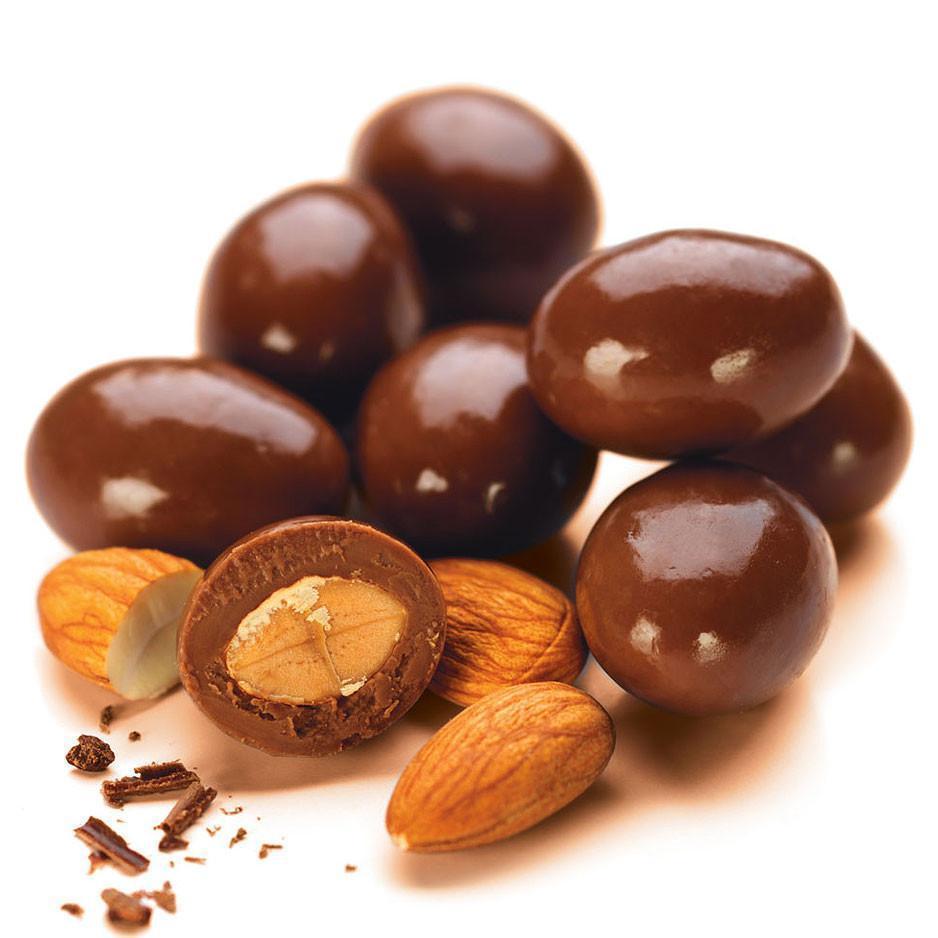 socola hạnh nhân nguyên liệu làm socola Nguyên liệulàm socola Valentine tại nhà 2021 Socola h   nh nh  n