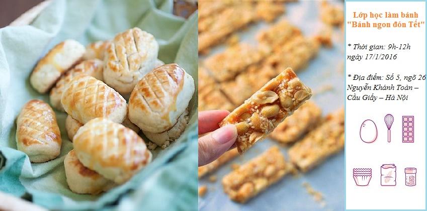 """Lớp học làm bánh """"Bánh ngon đón Tết"""" pineapple tarts2 1"""