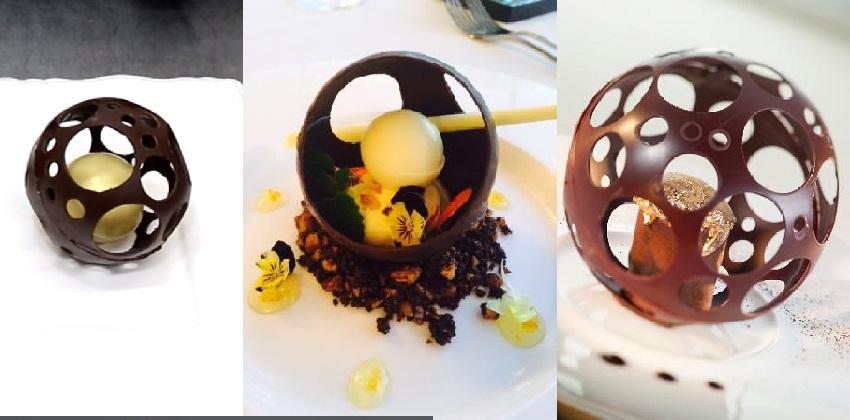 Mách bạn cách làm quả cầu socola đẹp cho Valentine 123 socola đẹp cho valentine Mách bạn cách làm quả cầu socola đẹp cho Valentine socola dep cho valentine 123