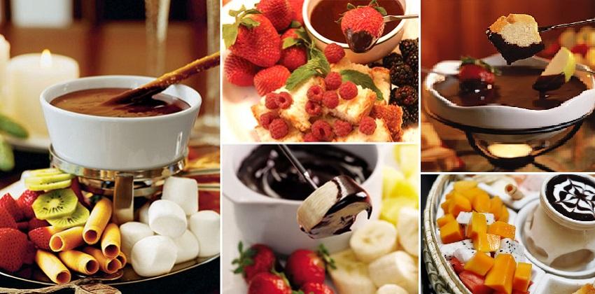 Kết quả hình ảnh cho Chocolate fondue – Lẩu Sô-cô-la