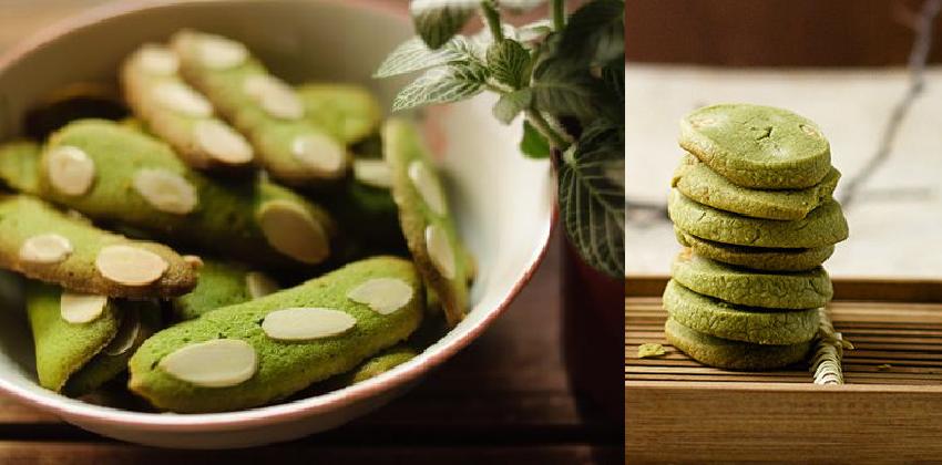 cách làm bánh quy trà xanh đón Tết 123 cách làm bánh quy trà xanh Cách làm bánh quy trà xanh hấp dẫn đón Tết cach lam banh quy tra xanh 123