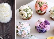 Cách làm kem bơ trang trí bánh bông lan, bánh sinh nhật