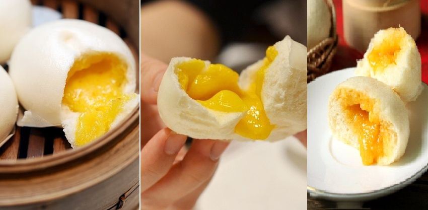 Cách làm bánh bao nhân trứng muối thơm ngon, đậm đà