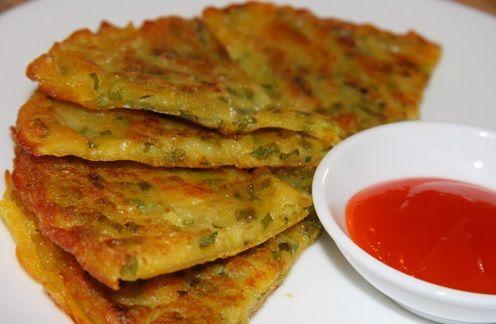 cách làm bánh hành cực dễ tại nhà lạ miệng 1 cách làm bánh hành Cách làm bánh hành Hàn Quốc cực dễ tại nhà vô cùng lạ miệng cach lam banh hanh cuc de tai nha la mieng 1