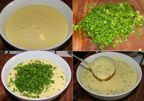 cách làm bánh hành cực dễ tại nhà lạ miệng 2 cách làm bánh hành Cách làm bánh hành Hàn Quốc cực dễ tại nhà vô cùng lạ miệng cach lam banh hanh cuc de tai nha la mieng 3