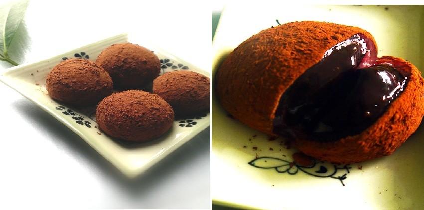 cách làm bánh mochi socola cách làm bánh mochi socola Cách làm bánh mochi socola ngọt ngào, say đắm lòng người cach lam banh mochi socola