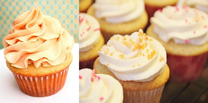 Cách làm cupcake vani và kem bơ trang trí cupcake