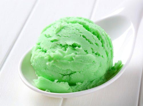 cách làm kem bạc hà 2