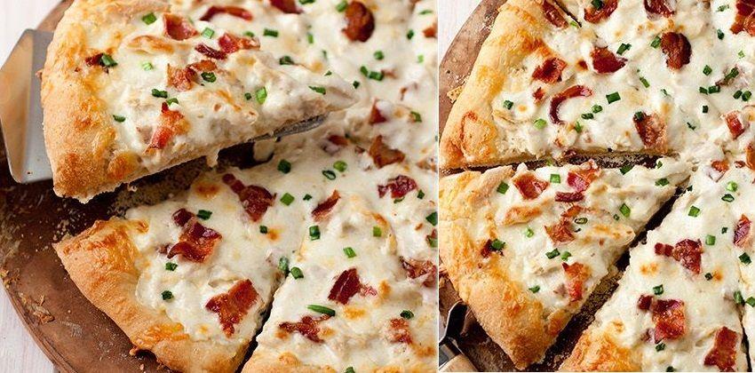 cách làm pizza bằng chảo 8 cách làm pizza bằng chảo Trổ tài với cách làm pizza bằng chảo siêu ngon và chất cach lam pizza bang chao1